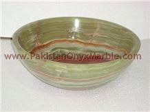 Pakistan Green Onyx Sink