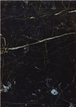 Golden Black Marble Slabs & Tiles, Iran Black Marble