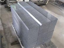 G654 Black Granite Fine Grain Stairs and Steps