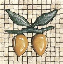 Classic Travertine Art Mosaics 08