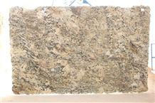 Delicatus Granite Slab, Brazil Beige Granite