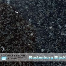 Rustenburg Black Granite Slabs & Tiles