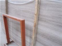 Light Grey Teak Wood Marble