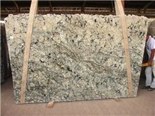 Vanilla Forest Granite Slab, Brazil White Granite