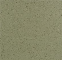 Light Grey Polished Finished Quartz Stone Solid Surface Slabs Of Acid and Alkali Resistance and Radiation-Less