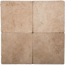 Durango Chocolate Tumbled Travertine Tile