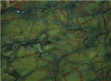 Amazon Jungle Exotic Granite Tile,Green Granite