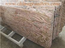 California Red Dragon Granite Prefabricated Counte
