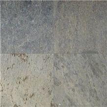 Silver Shine Indian Slate Tiles
