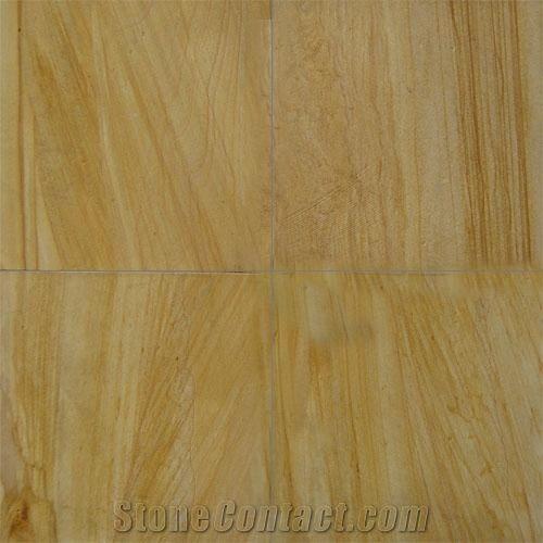 Teak Wood Sandstone Paving Stone Teakwood Yellow