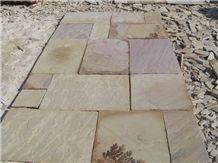 Tint Mint Sandstone Pavement, Fossil Mint Sandstone