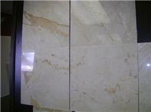 Monaco Ivory Light Beige Marble Tile, Turkey Beige Marble