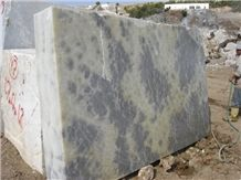 Cerko, Iris Marble Block,Turkey Blue Block