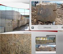 Emgoni Marble Blocks, Turkey Blue Marble