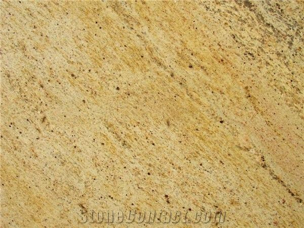 Kashmir Gold Granite Tile India Yellow Granite 128602