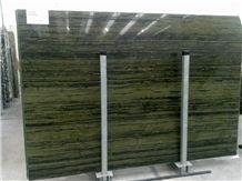 Verde Bamboo Quartzite Slabs, Brazil Green Quartzite Tiles & Slabs, Floor Tiles, Wall Tiles