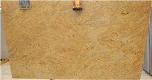 Kashmir Gold Granite Slab, India Yellow Granite