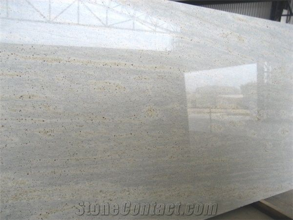 Kashmir White Granite Slabs Tiles White Polished Granite