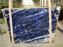 Sodalite Blue Granite Slab, Namibia Blue Granite