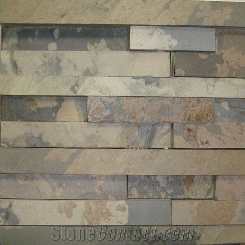 Indian Autumn Rustic Slate Ledge Stone Stonecontact Com