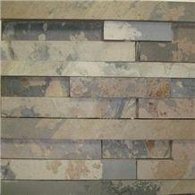 Indian Autumn Rustic Slate Ledge Stone