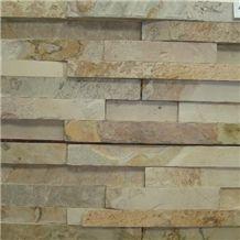 Indian Autumn Slate Ledge Stone, Yellow Slate