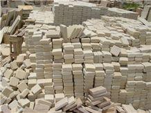 Mint Sandstone Cobble Stone Tumbled