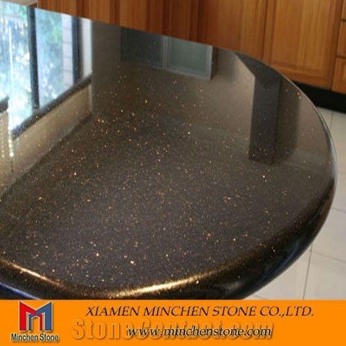 Black Galaxy Granite Countertop From China 133133 Stonecontact
