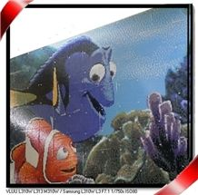 Swimming Pool Tile,Float Glass Mosaic Picture