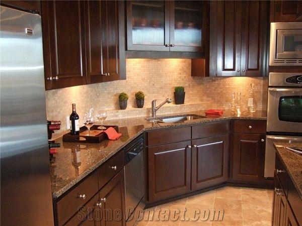 Superbe Tropical Brown Granite Countertop