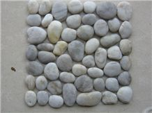 Multi-Color Mexican Beach Landscaping River Polished, Mixed Stone Gravel Pebble Tiling Natural Blend, Decorative Aggregates Pebbles & Cobbles, Black, White Natural Granite, Pavers, Outdoor Walkways