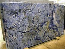 Azul Bahia Granite Slab, Brazil Blue Granite