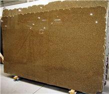 Giallo Antico Granite Slabs, Brazil Yellow Granite