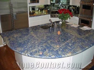Blue Sodalite Granite Countertop From United States