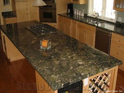 Green Marinace Granite Countertop Verde Marinace Green