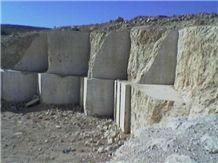 Botticino Light Beige Marble Blocks