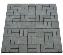 Basalto Mosaic, Lava Stone China Grey Basalt Mosaic