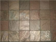 Copper Slate Mosaic Tiles Bem07