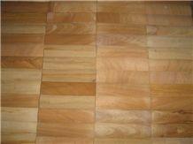 Teak Sandstone Mosaic Tiles Bem01