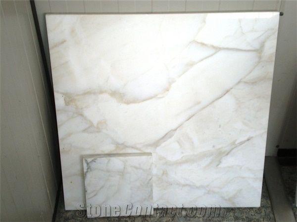 Calacatta Crema Marble Slabs Tiles Italy White Marble