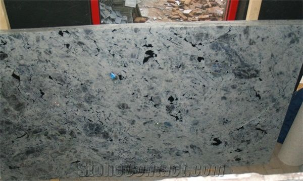 Labradorite Bianca Granite Slab Madagascar White Granite