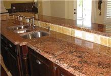 Juparana Florence Granite Countertops, Work Tops