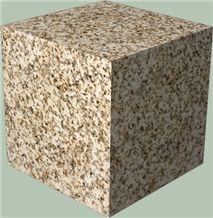 Silvestre Claro Granite Cube,Spain Yellow Granite