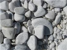 Atlantic White Granite Pebble Stone