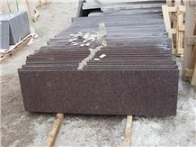 Brown Porphyry,Thunder Brown,Purple Porphyry Granite Slabs & Tiles