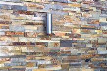 Natural Stone Slate Stacked Rock Panels