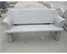 Garden Granite Chair, Grey Granite Chair