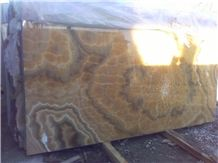 Onice Miele Nuvolato Onyx Slab,Italy Yellow Onyx