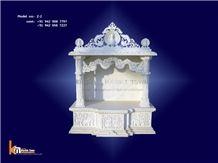 Ambaji White Marble Handcrafts Temple