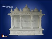 Ambaji White Marble Temple